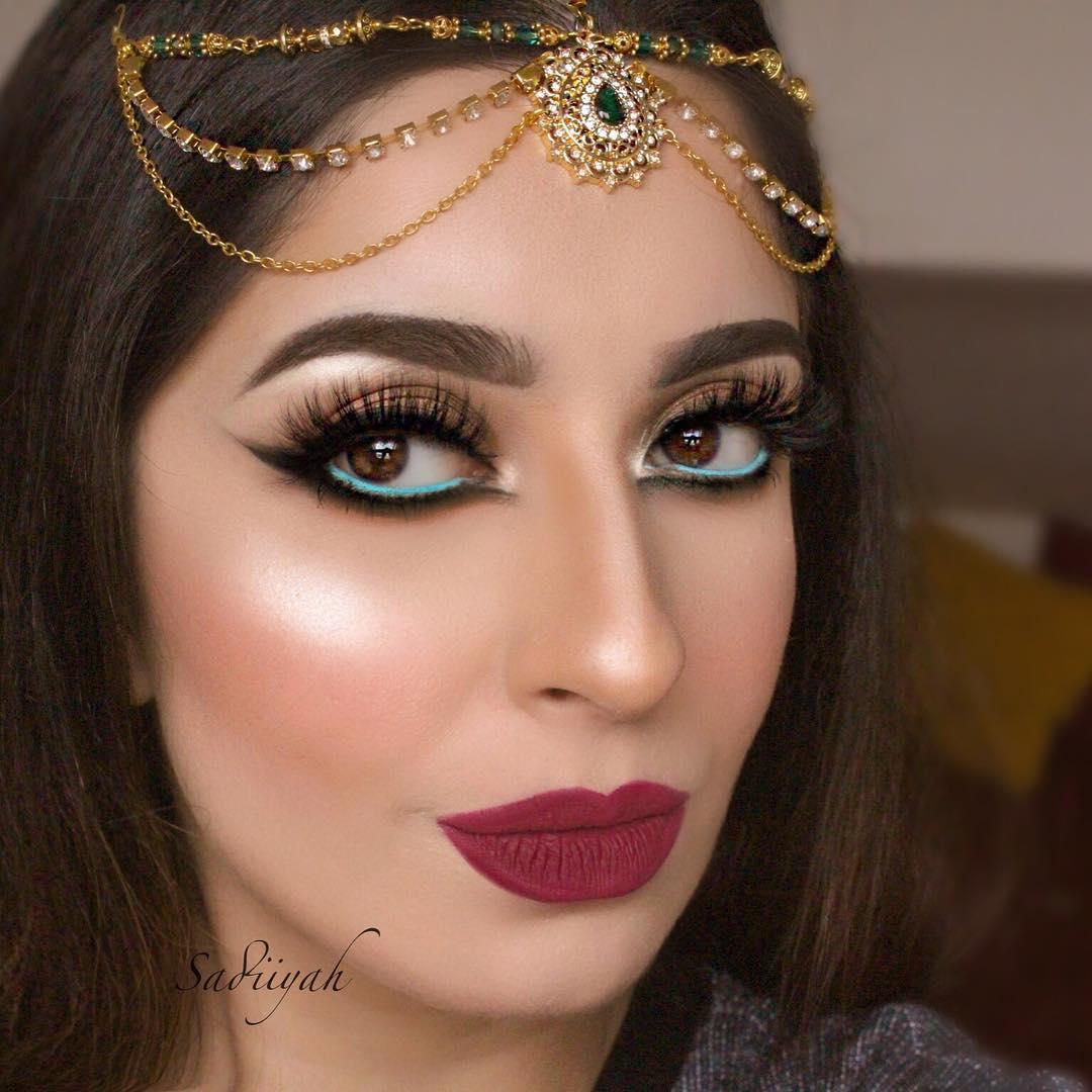 Madz Fashionz Uk Sadiiyah Bridal Matha Patti Headpiece