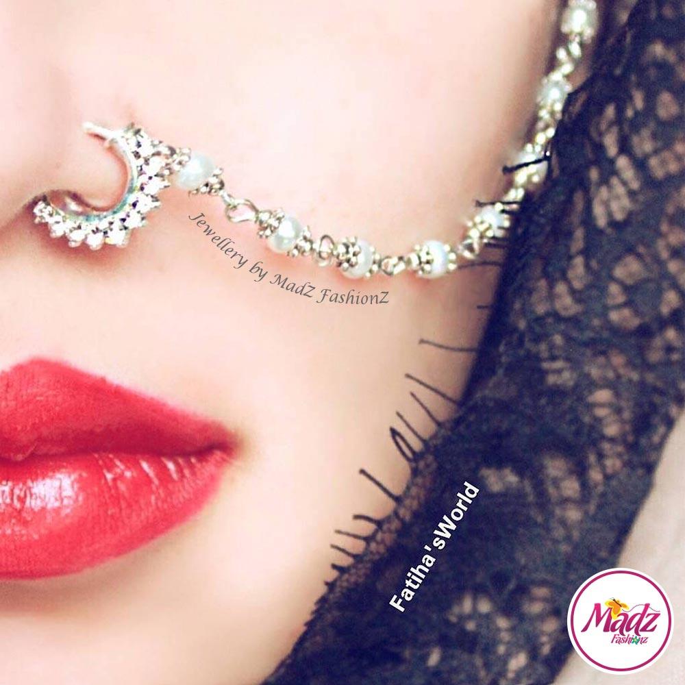 Madz Fashionz UK: Fatihasworld Bridal Nose Ring Nath Indian ...