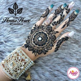 Madz Fashionz UK: Hennabyang Crystallised Cuff Bracelet Kara