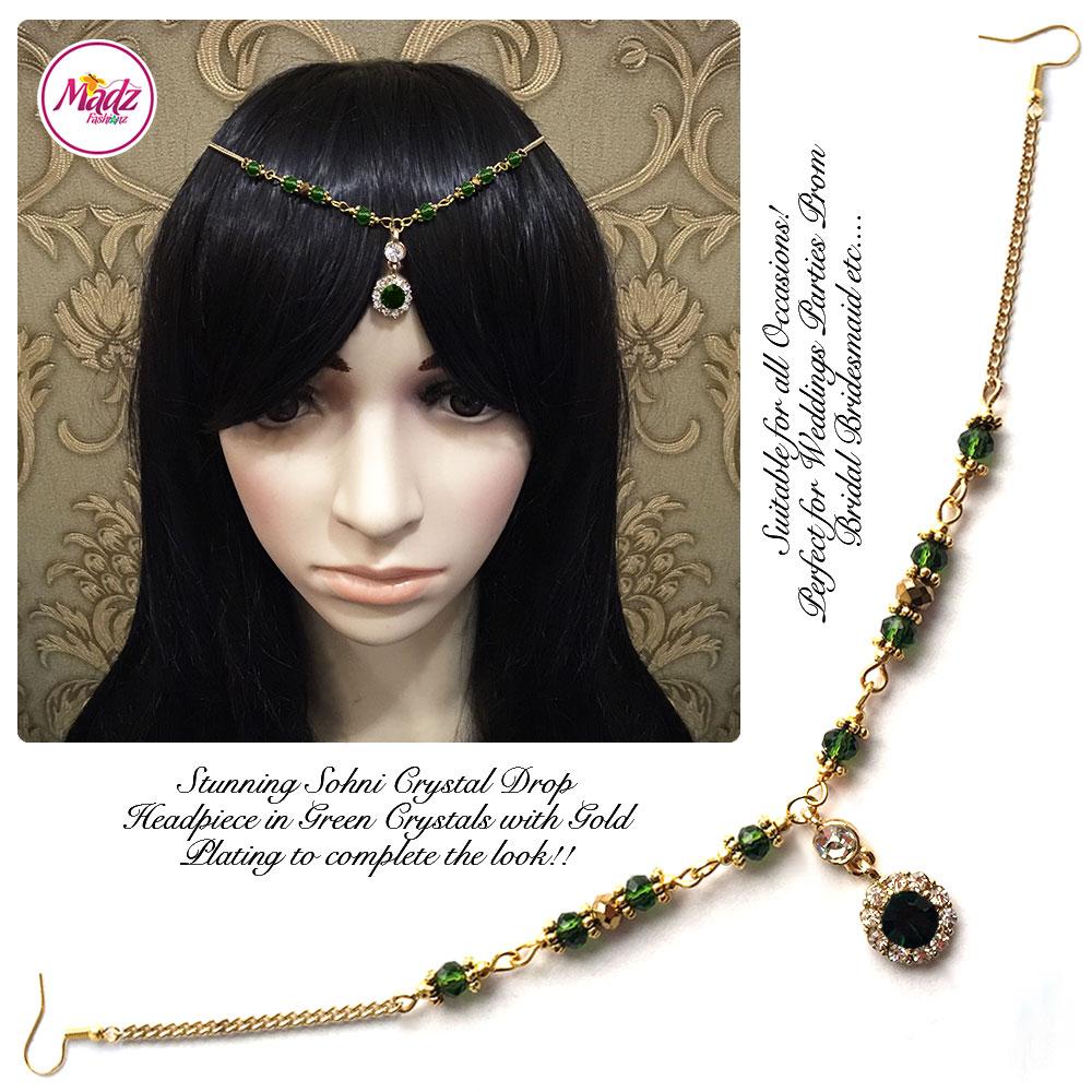 Madz Fashionz Uk Head Pieces Matha Patti Hair Jewellery