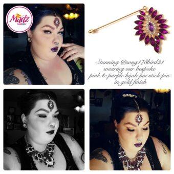 Madz Fashionz USA: @song178bird21 Pink Hijab Pin, Hijab Jewels 2