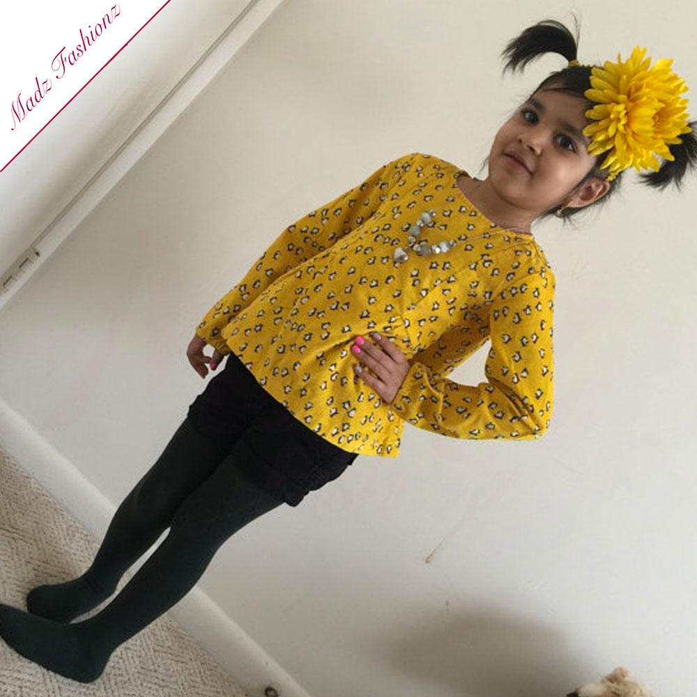 Yellow Headband Big Flower Hairband Baby Head Accessories