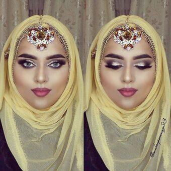 @makeupsarang93 Bridal Maang Tikka Silver White Bridal Tikka headpieces maang tikka Eid, Muslims, indian jewellery, Jewellery, Pins, Pin, Muslimah, Arab,