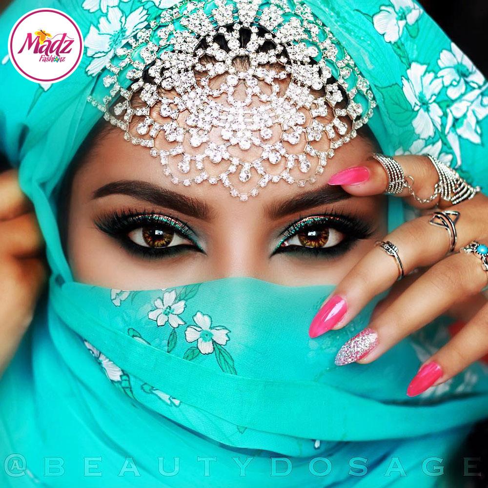 Madz Fashionz USA: Beautydosage Angel Headpiece Bridal Crystal Matha Patti