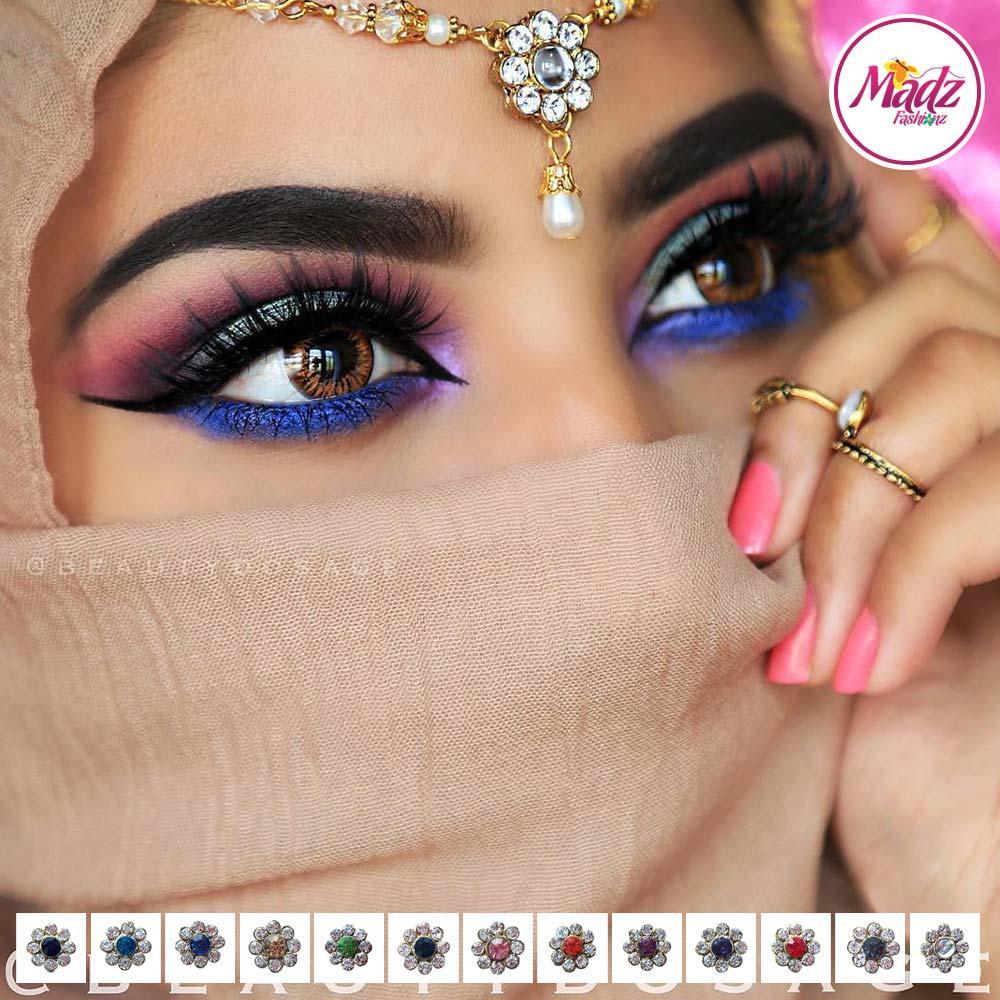 Madz Fashionz USA BeautyDosage Pearl Drop Headpiece Gold Finish