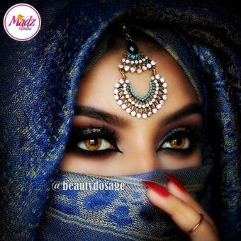 Madz Fashionz USA: beautydosage Hair Tikka Maang Tikka Earrings Set
