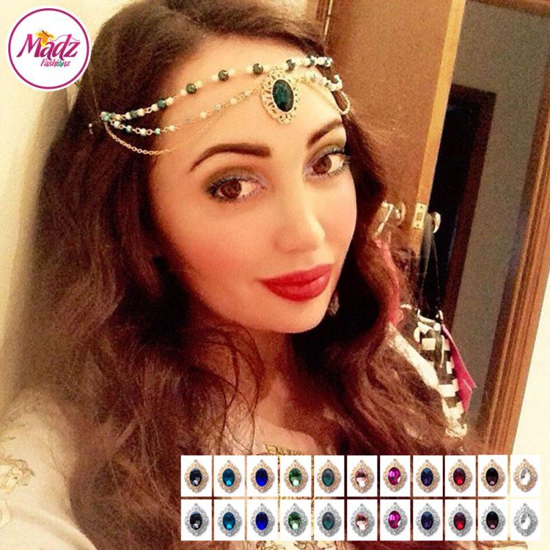 Madz Fashionz UK: Labellablogger Chandelier Matha Patti Headpiece Gold Silver
