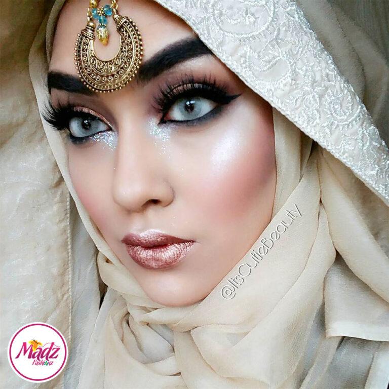 Madz Fashionz UK: ItsCutieBeauty Kundan Tikka Headpiece Headchain Maang Tikka Antique Gold Silver