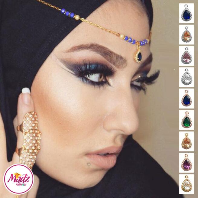 Madz Fashionz UK: Gold Maang Tikka Matha Patti Hair Chain Headpiece Gold Silver