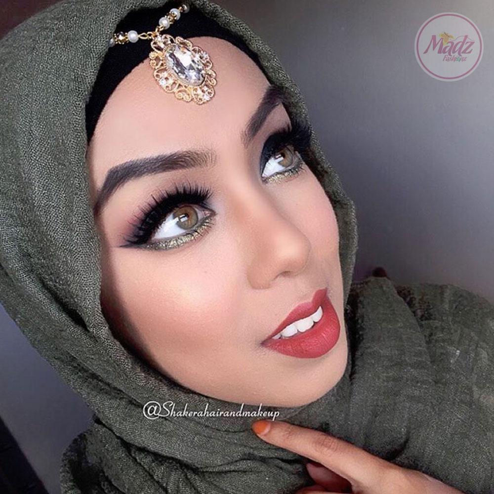 headpiece , bridal forehead jewelry , Shakera , indian hair accessories , head piece for prom , Emerald matha patti , tikka , arabic head chain