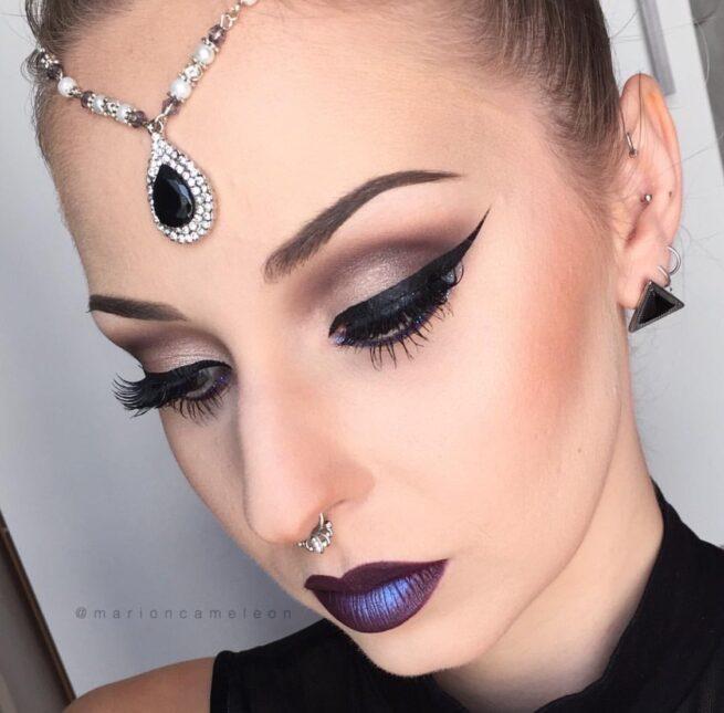 Black and Silver Headpiece , Matha Patti – Marioncamelon - Madz Fashionz UK