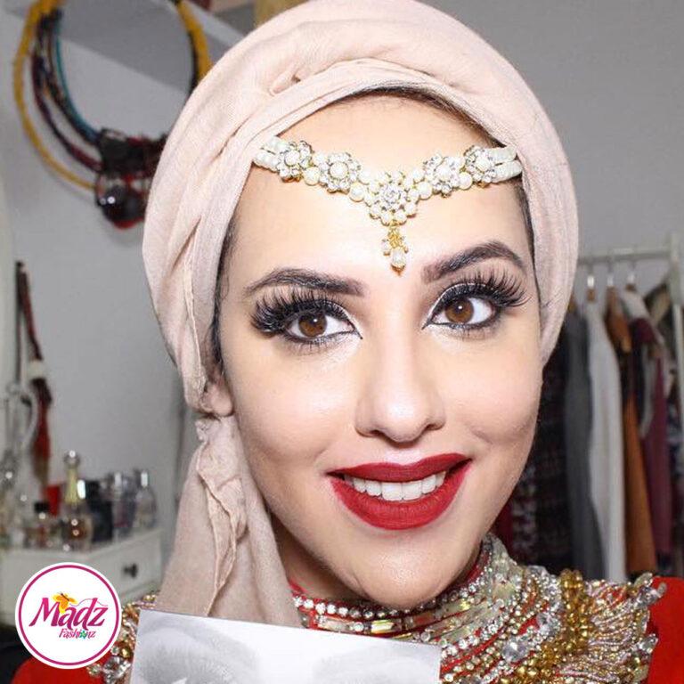 Madz Fashionz UK: Romy Ahmed Bridal Pearl Matha Patti Headpiece