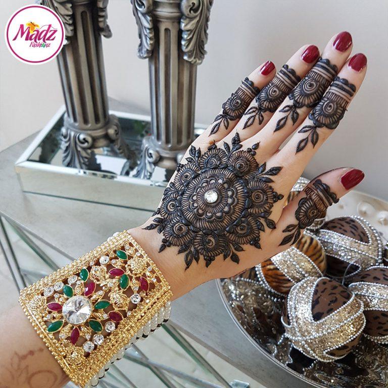Bridal Bracelet , Bhaiy Handpiece - HennaHouseCanada - Kara Bracelet - Madz Fashionz UK
