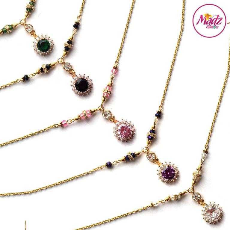Madz Fashionz UK: Sahiba Crystal Headpiece Matha Patti Maang Tikka Gold Silver