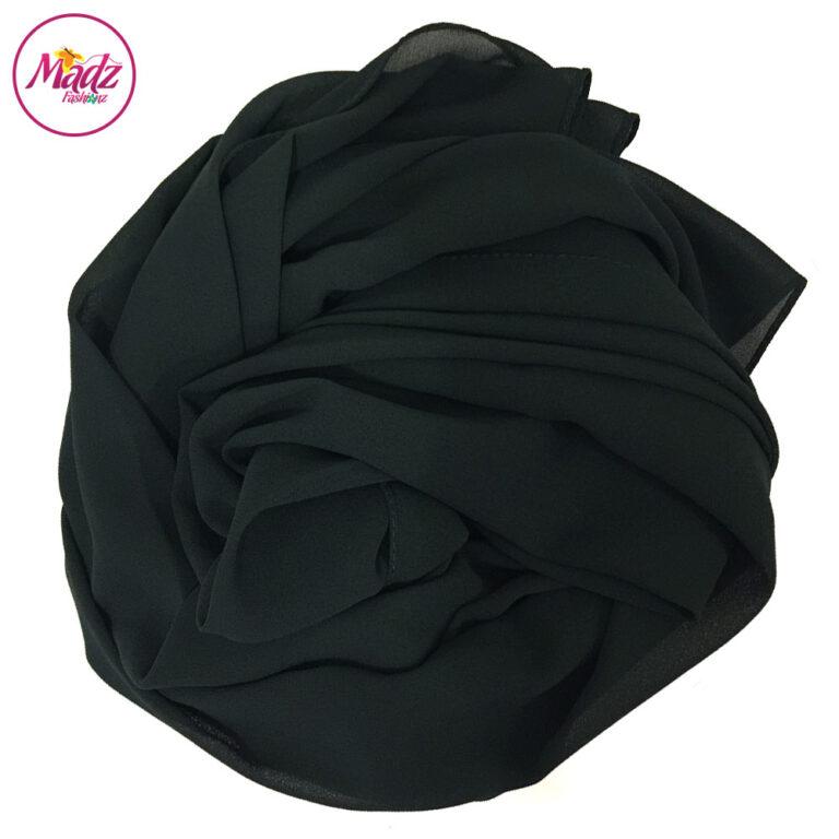 Madz Fashionz UK: Long Maxi Plain Chiffon Forest Green Muslim Hijabs Scarves Shawls
