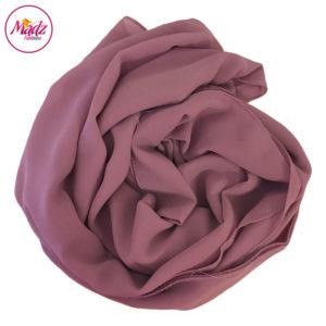 Madz Fashionz UK: Long Maxi Plain Chiffon Rose Pink Muslim Hijabs Scarves Shawls