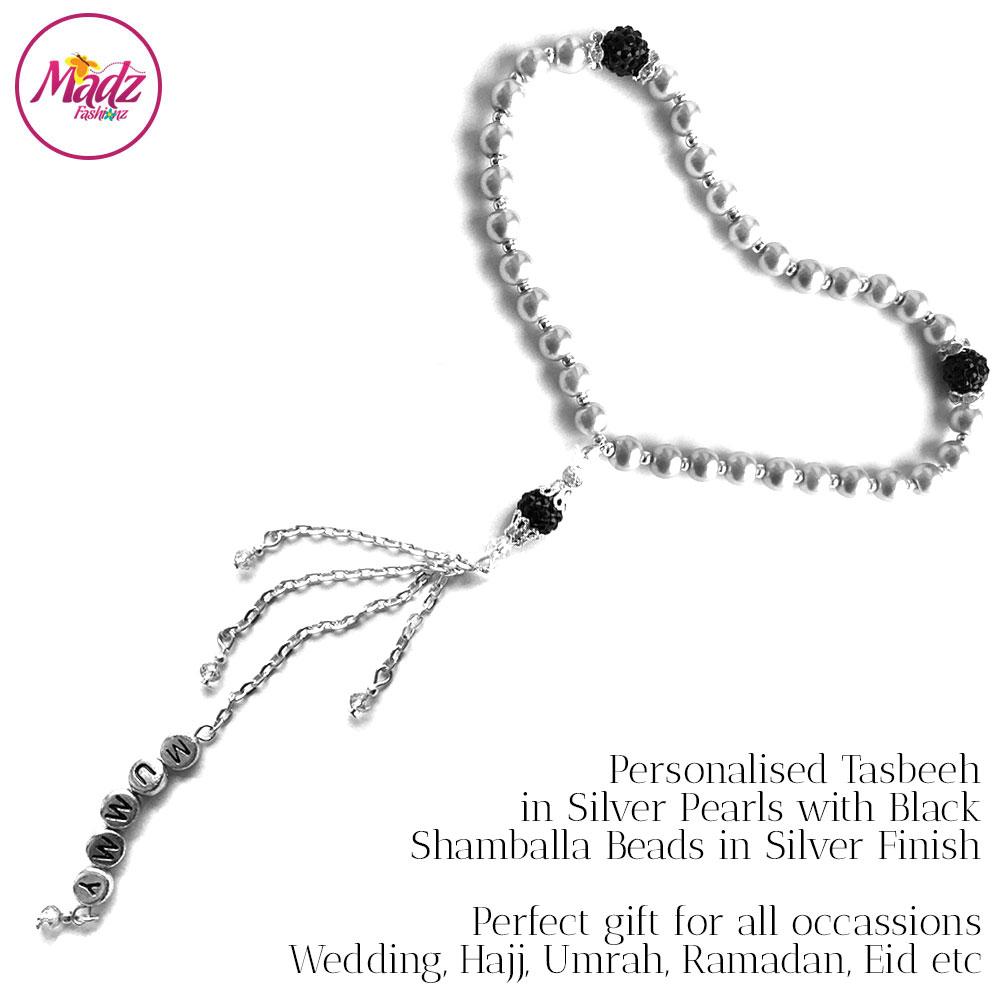 TSB11 – Tasbeeh (Silver Black)
