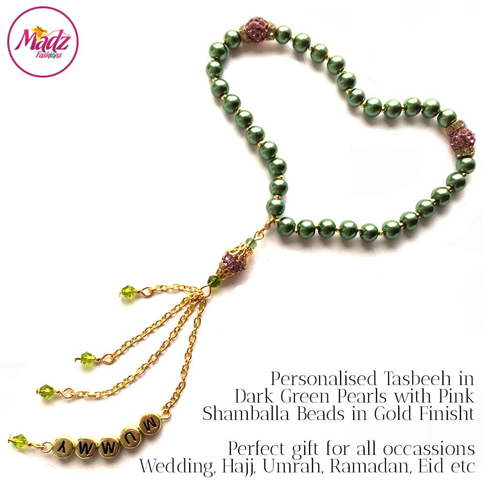 TSB12 – Tasbeeh (Green Pink)