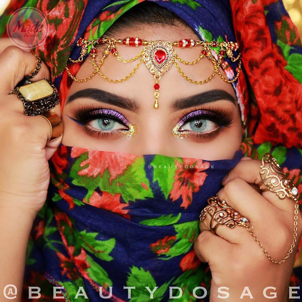 Gold Head Piece , Head Wear , Matha Patti , Beautydosage hijab or hair jewelry , eid , chain hair accessories , matha patti , indian bridal
