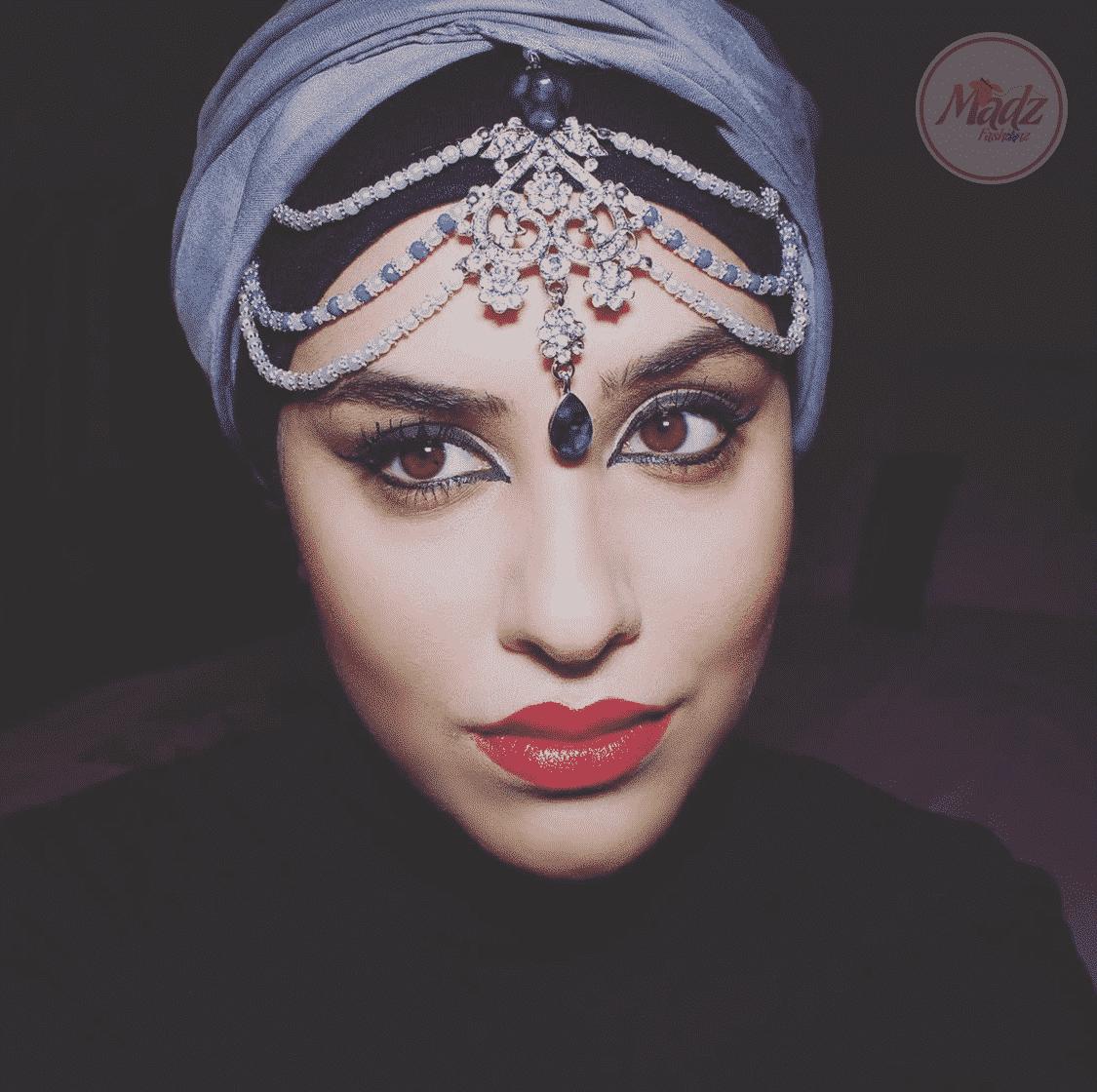 Romy Head Piece , Bridal Forehead jewelry, Head Piece for bride , Bridal forehead jewelry , prom hair accessories , pearl matha patti , arabic head wear , indian maang tikka , gold