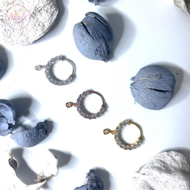 Nose Nath Ring , 925 Sterling Silver Nose Ring , Nose Hoop