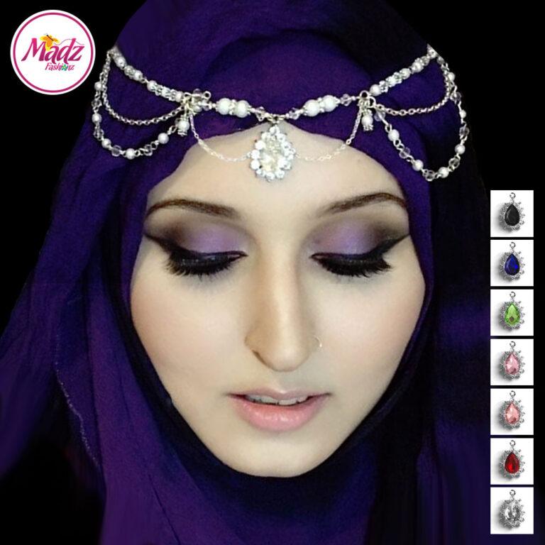 Madz Fashionz USA Rooh Delicate Matha Patti Headpiece Head chain Maang Tikka