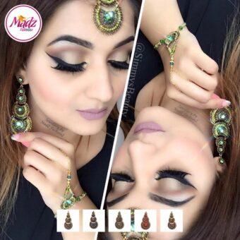 Madz Fashionz USA: simmysbeauty Maang Tikka & Earrings Set