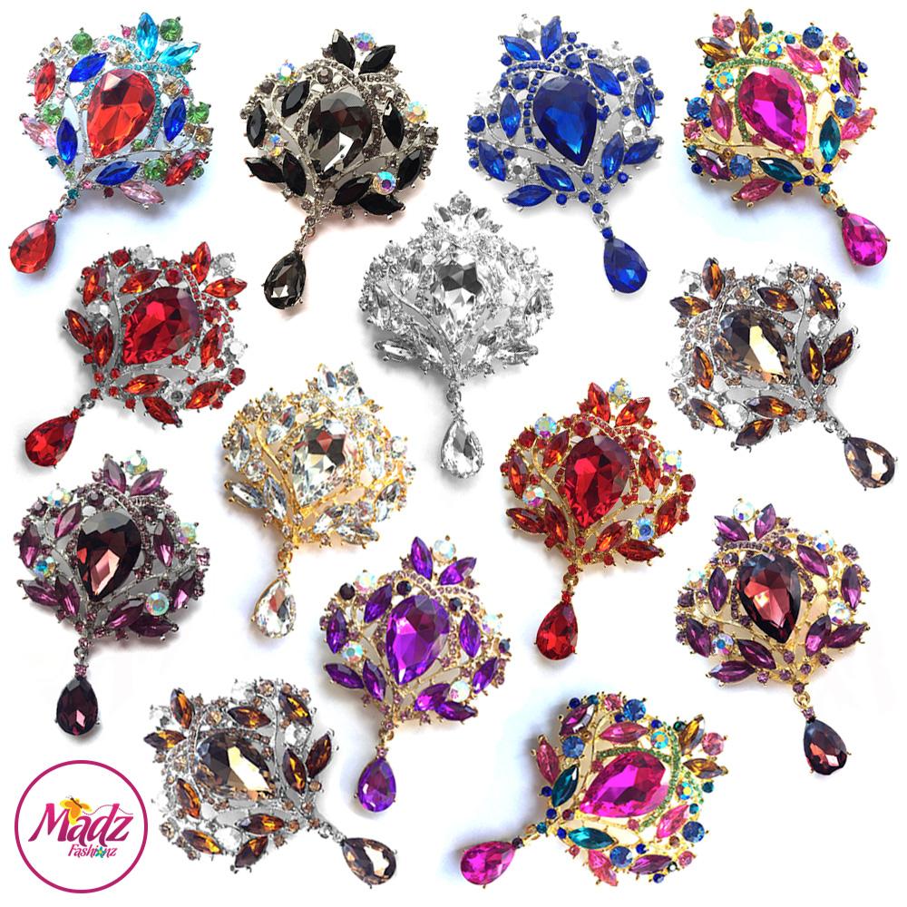 Madz Fashionz USA: Makeupsarang93 Elegant Brooch Hijab Pin Gold Silver