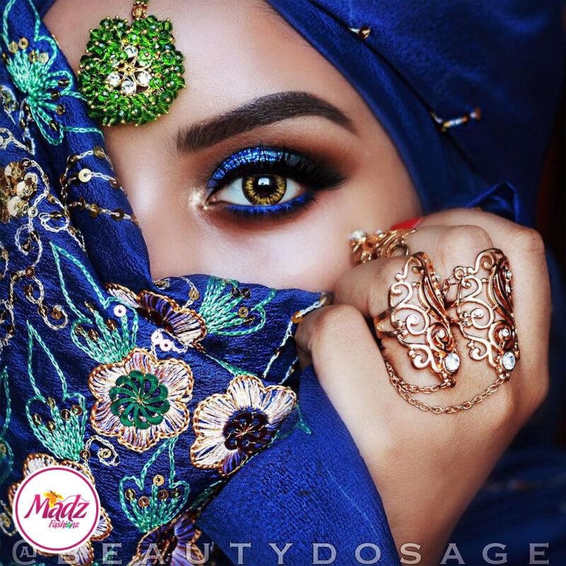 Madz Fashionz USA: Beautydosage Jeeshan Zohra Maang Tikka Headpiece