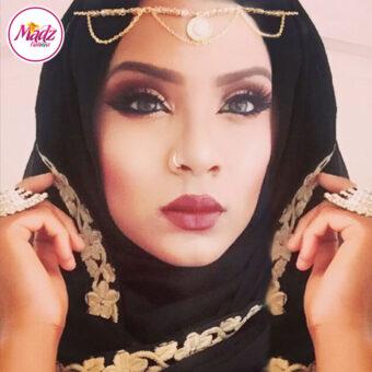 Madz Fashionz USA: Shahara Diamante Headpiece Matha Patti Gold Silver White