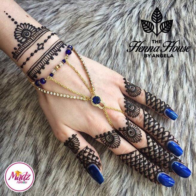 Hennabyang Cuff Bracelet Hand Jewellery Panjas - MadZ FashionZ USA