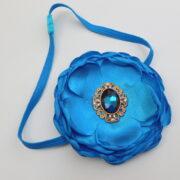 Newborn Blue Headband Girls Hair Accessories