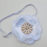Newborn White Headband Girls Hair Accessories