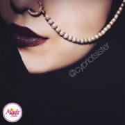 Madz Fashionz USA: Cypriotsister Pearl Indian Nose Ring Nath Bullaku Nathu Gold Silver