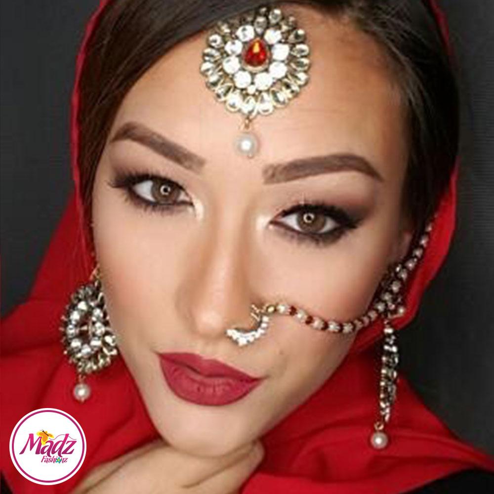 Madz Fashionz Usa Mspaintedlady Pearled Bridal Nose Ring Nath