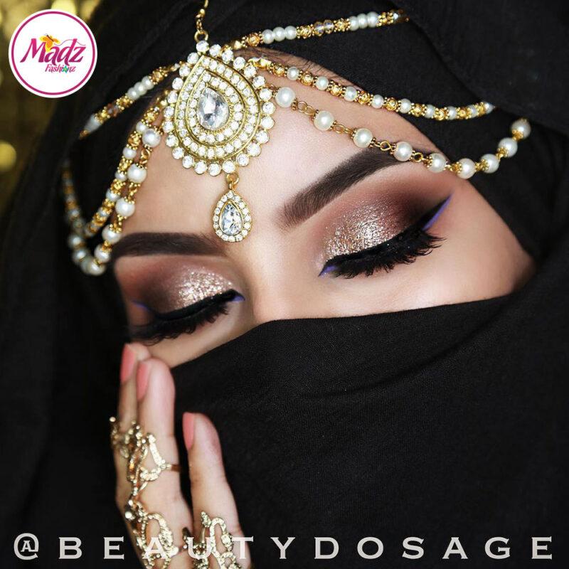 Madz Fashionz USA: Beautydosage Bridal Crystal Drop Matha Patti Headpiece Hair