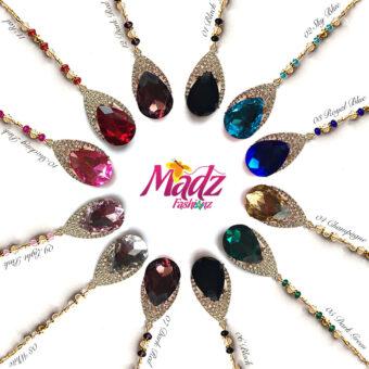 Madz Fashionz USA: Dalnaaz Hair Tikka Maang Tikka Matha Patti Gold